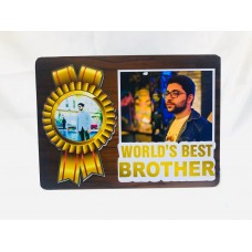 Personalized Gift | Magnetic Hidden Photo Frame Brother