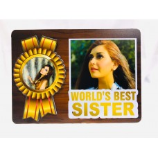Personalized Gift |Magnetic Hidden Photo Frame Sister