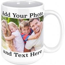 Personalized Gift | White Mug | Add Photo Text Logo (Pack of 6 pcs)