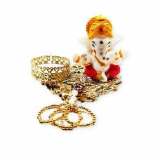 biZyug Ganesha Tealight (1 Pcs)