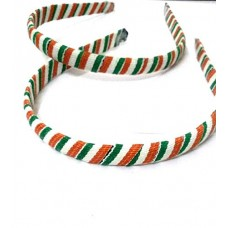 biZyug Tricolor Hairband (PACK OF 2)
