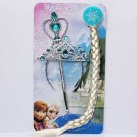 Frozen Fancy Accessories (Crown + Hair Band + Wand)