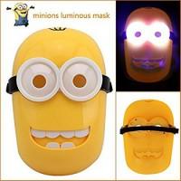 LED Minions Mask Lighting