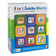 Ekta 5 in 1 Jumbo Blocks