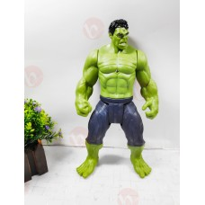 Avengers End Game Hulk Super Hero Action Figure Toy with LED Light | Large Size
