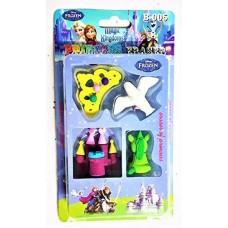 biZyug 3D Frozen Eraser for Return Gift (4 PKT)