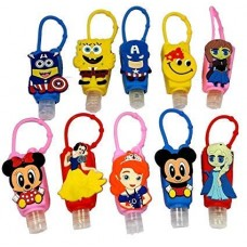 biZyug Cartoon Character Antibacterial Hand Sanitizer (Pack of 4)