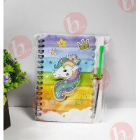 biZyug 3D Diary with Pen for Return Gift | Unicorn