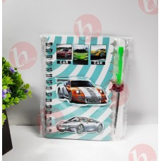 biZyug 3D Diary with Pen for Return Gift | Car