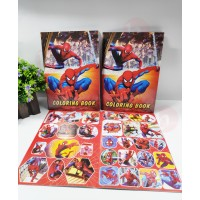 biZyug Coloring Book for Return Gift |Small Size | Spiderman