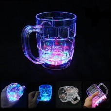 LED Flashing 7 Colour Changing Liquid Activated Mug