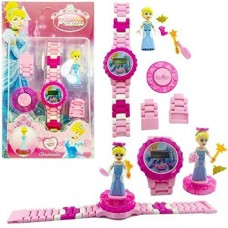 biZyug Frozen Watch with Spinner and Adjustable Chain