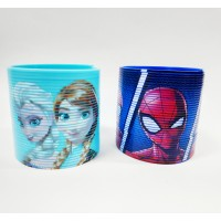 Character Frozen and Spiderman Magic Spring Gift Combo (Pack of 2)