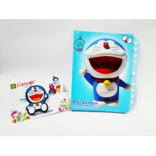 Doraemon Kid Rakhi with Doraemon Lock Diary Gift Combo