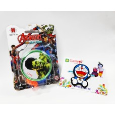 Doraemon Kid Rakhi with Avengers YOYO Gift Combo