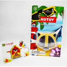 Angry Bird Kid Rakhi with Stylish Foldable Goggle Gift Combo