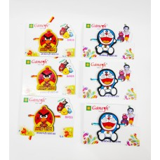 Angry Bird and Doraemon Kid Rakhi (Pack of 6)