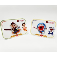 biZyug Ganesha and Doraemon Kid Rakhi (Pack of 2)
